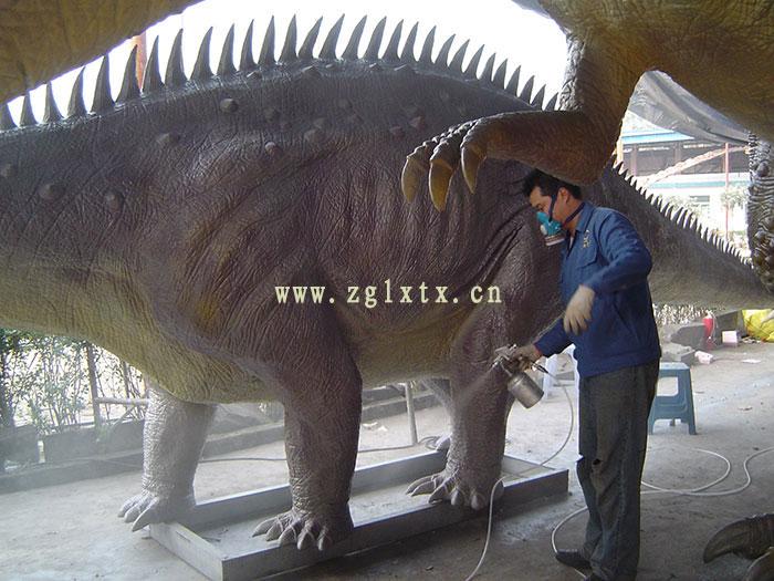 英国牛津街恐龙展图六