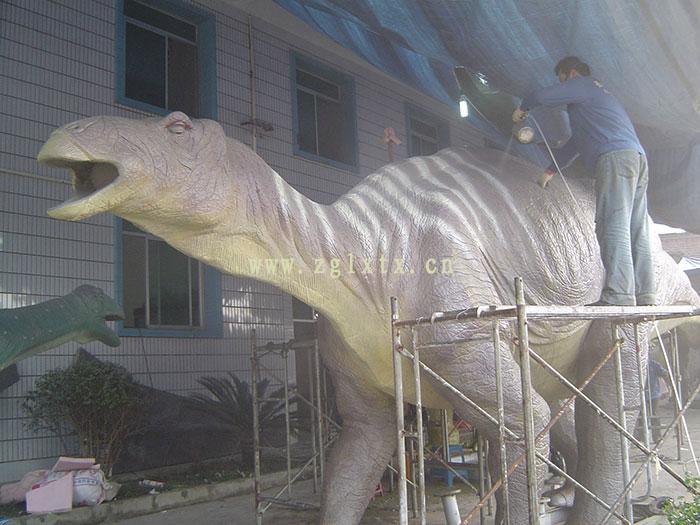 英国牛津街恐龙展图五
