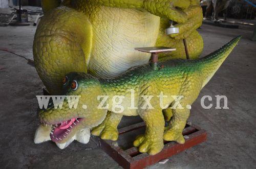 仿真盖章恐龙之小龙