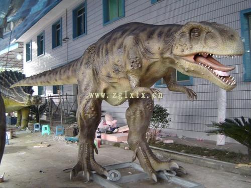 英国牛津街恐龙展图三