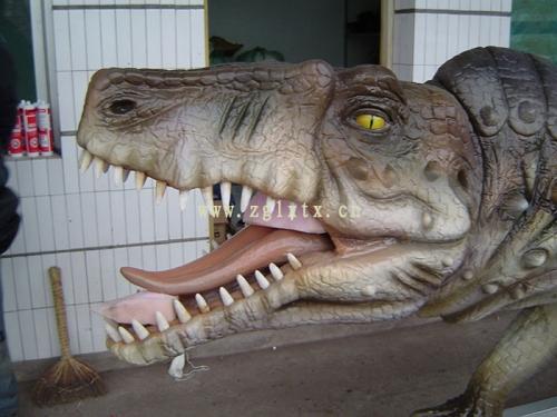 英国牛津街恐龙展图一