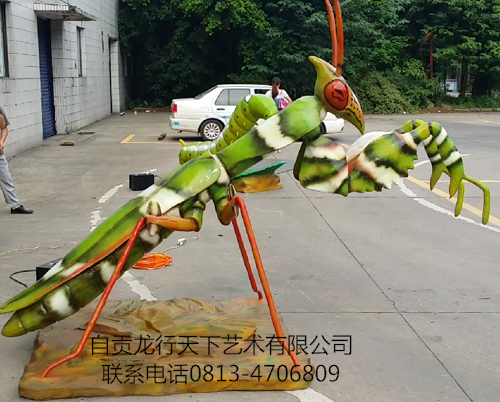 Simulation Magic flower mantis