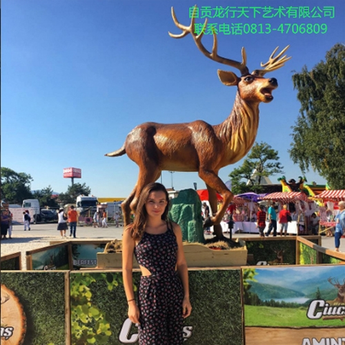 西藏罗马尼亚啤酒节推广-麋鹿