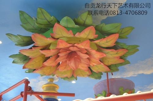 香港定制儿童主题吊顶-大花