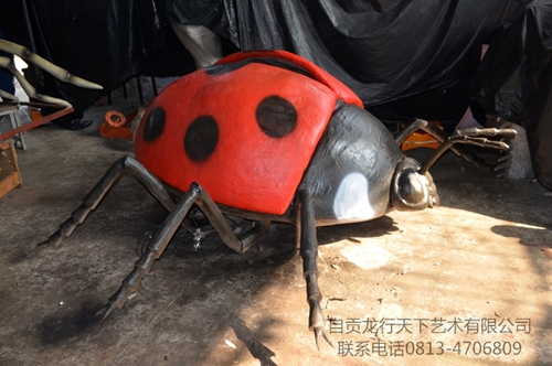 台湾仿真昆虫-七星瓢虫