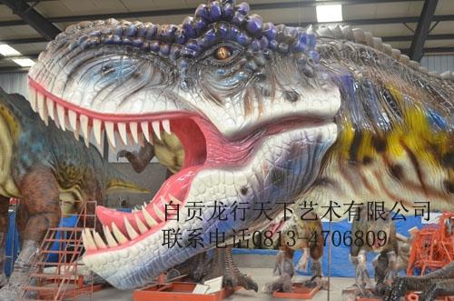 浙江仿真恐龙-玻璃钢霸王龙